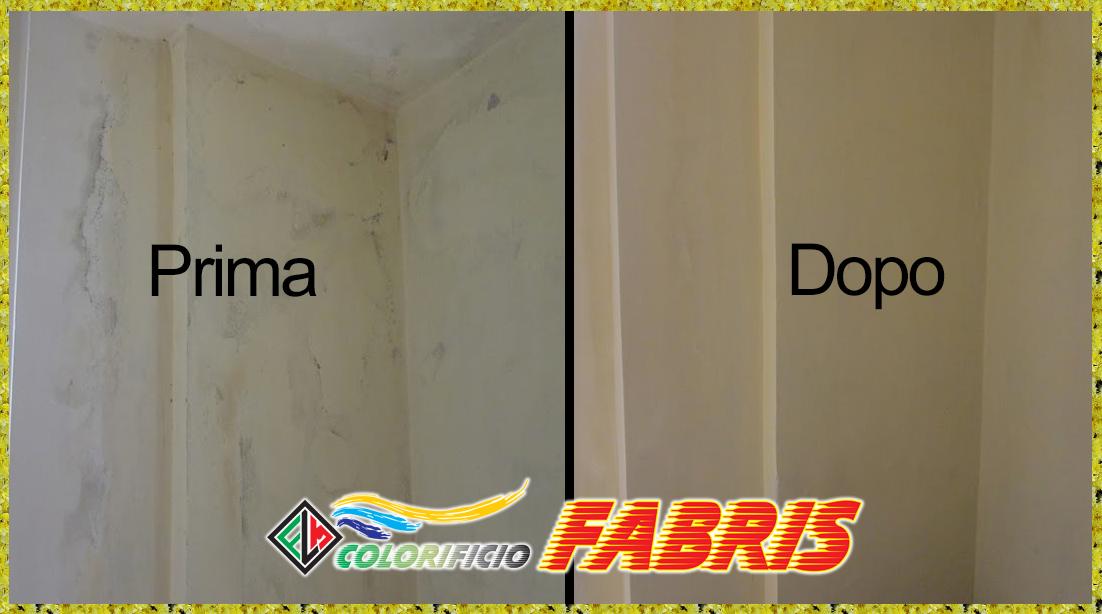 Pittura antimuffa del Colorificio Fabris Chioggia